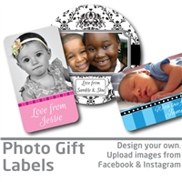 Photo Gift Labels