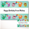 Monsters Gift Labels