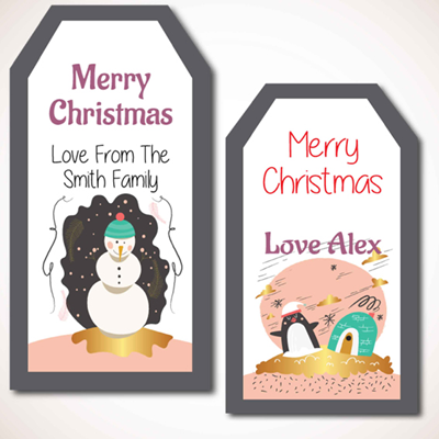 Christmas Labels Pack