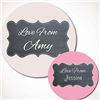 Chalk Board Effect Gift Labels